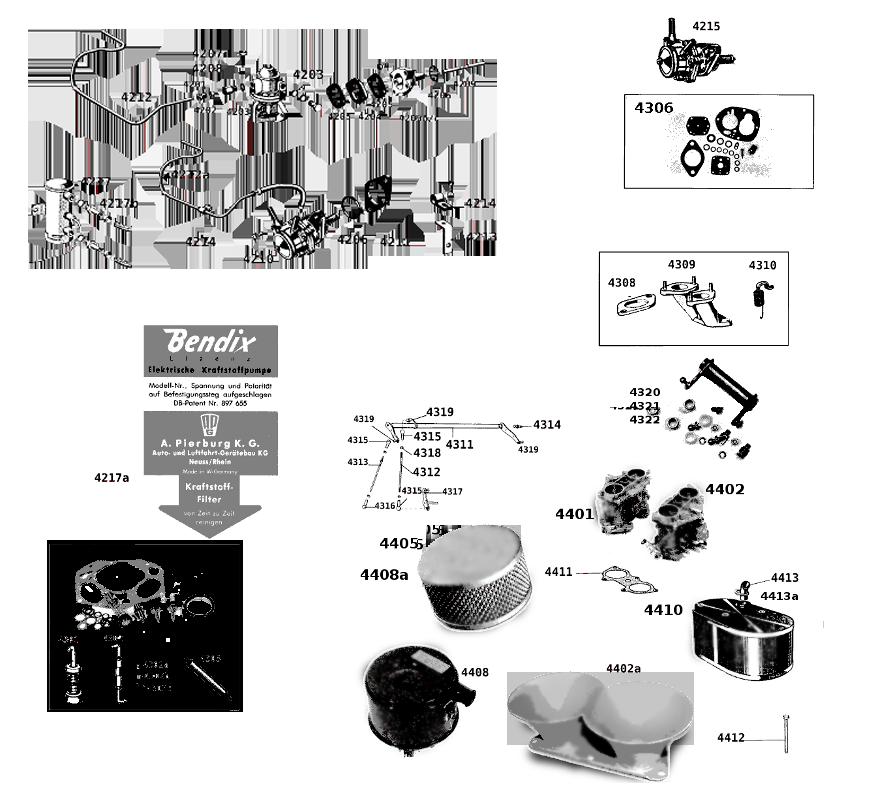 Carburateur - Pompe essence