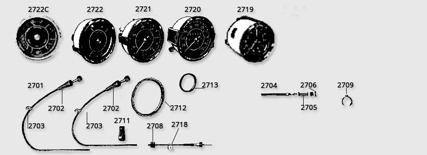 Instruments veilleuses