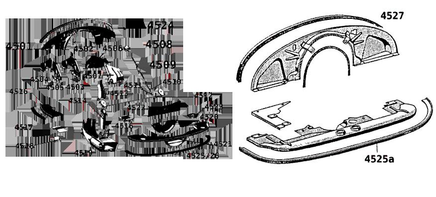 t les et pi ces d tach s t les pour moteur porsche 356. Black Bedroom Furniture Sets. Home Design Ideas