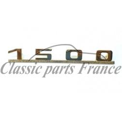 sigle 1500 doré pour Porsche 356 Pré A AT1