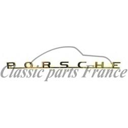 écriture Porsche avant ou arrière - 356 BT5