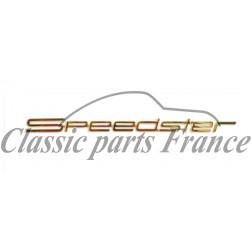 écriture Speedster - Porsche