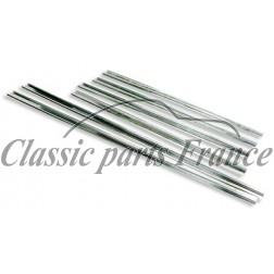 set profils aluminium pour joint capote - Porsche 356