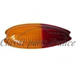verre de feu arrière gauche jaune/rouge 356 AT2 - 356 C