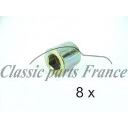 jeu écrou culasse 8 pièces zingué 356 B/C et 912