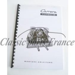 manuel d' atelierpour 356 Carrera 2 moteur 587/1 en Allemand