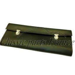 pochette à outils noire vide avec 2 sangles 356 C