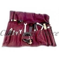 Pochette avec outils en tissu rouge pour 356 Pre A