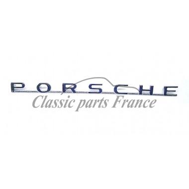 écriture logo Porsche 356 préA et A