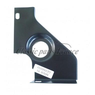 moitié droite tôle latérale pour moteurs avec Solex 40 P II