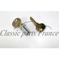 barillet droit avec 2 clés - Porsche 356
