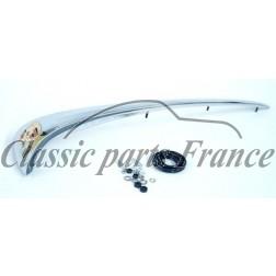 poignée chromée avec écusson - Porsche 356 B/C