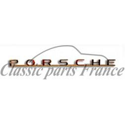 écriture Porsche avant ou arrière - 356 A