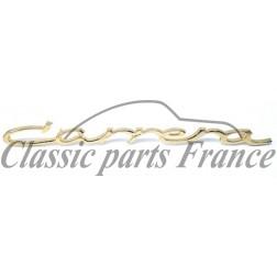 écriture - Porsche 356 Carrera - grand format