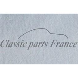 tissu velours sièges bleu largeur 1400 mm Porsche 904