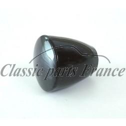 bouton noir réglage glissière - Porsche 356 B/C