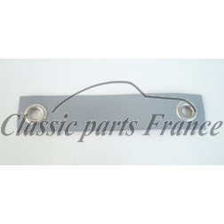 sangle grise suspension câble compteur vitesses - 356