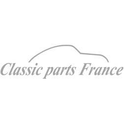 butoir pare-choc avant gauche export chromé - Porsche 356