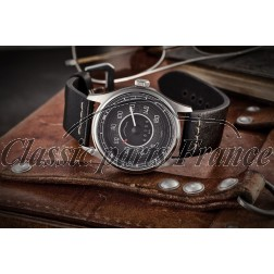 montre 356 bracelet homme compteur km cadran noir/blanc