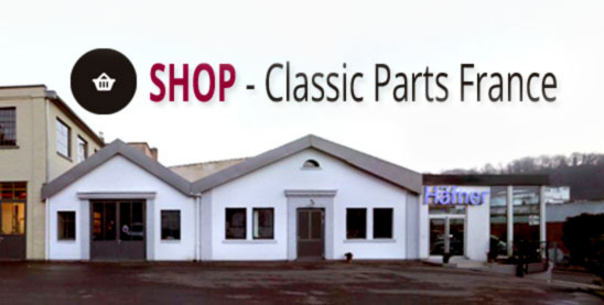 Classic Parts France- Pieces Porsche